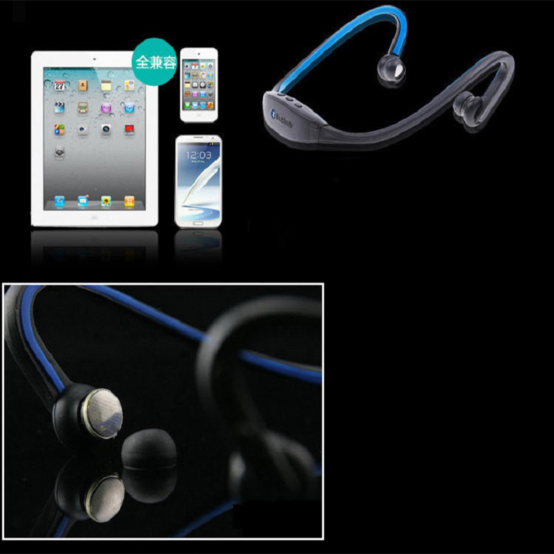 Blue Tooth Headset Bluetooth Earphone  Auriculares Wireless Bluetooth Headphones with Mic Fone De Ouvido for All Mobile Phone
