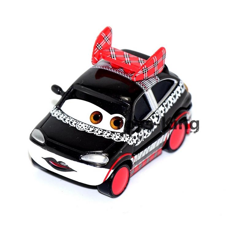japon noir fille de pixar cars 2 mini alliage voiture. Black Bedroom Furniture Sets. Home Design Ideas