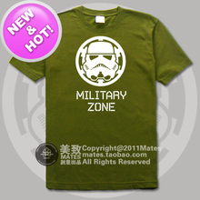 High Quality Star Wars Stormtrooper Classic Movie 100% Cotton Fashion Casual Loose Printing T-shirt Tee Dress Camisetas Clothing