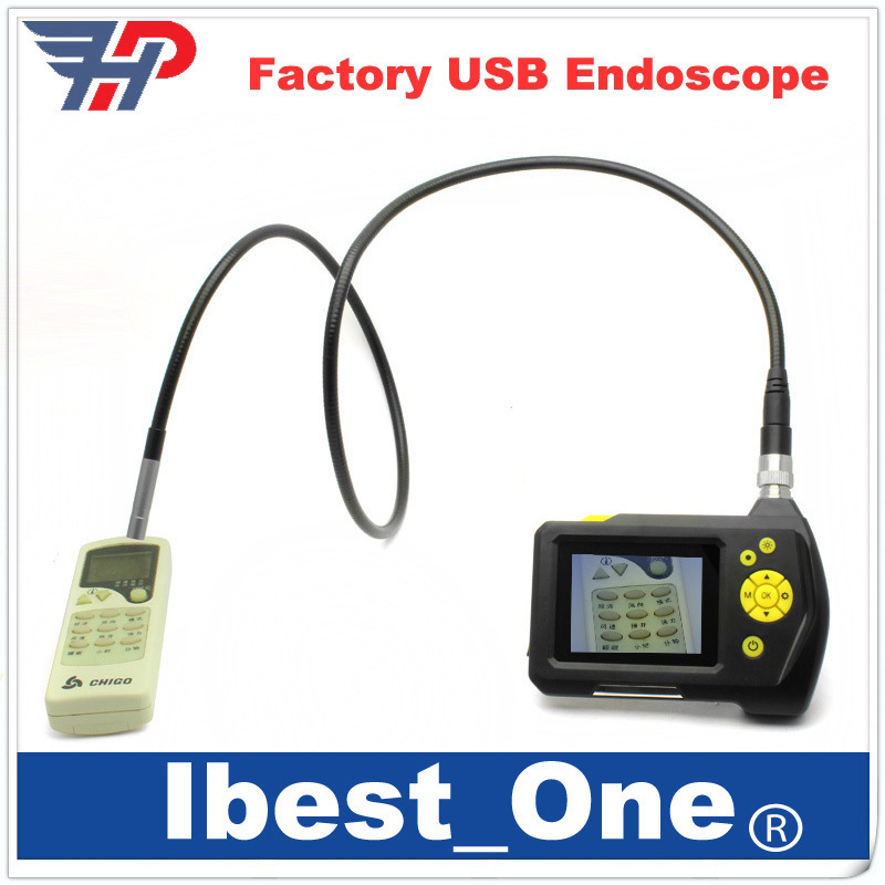 """8.2 MM Borescope Endoscope Camera 2.7"""" LCD Inspection Camera 1M Cable Flexible Industrial Endoscope Video Recorder(China (Mainland))"""
