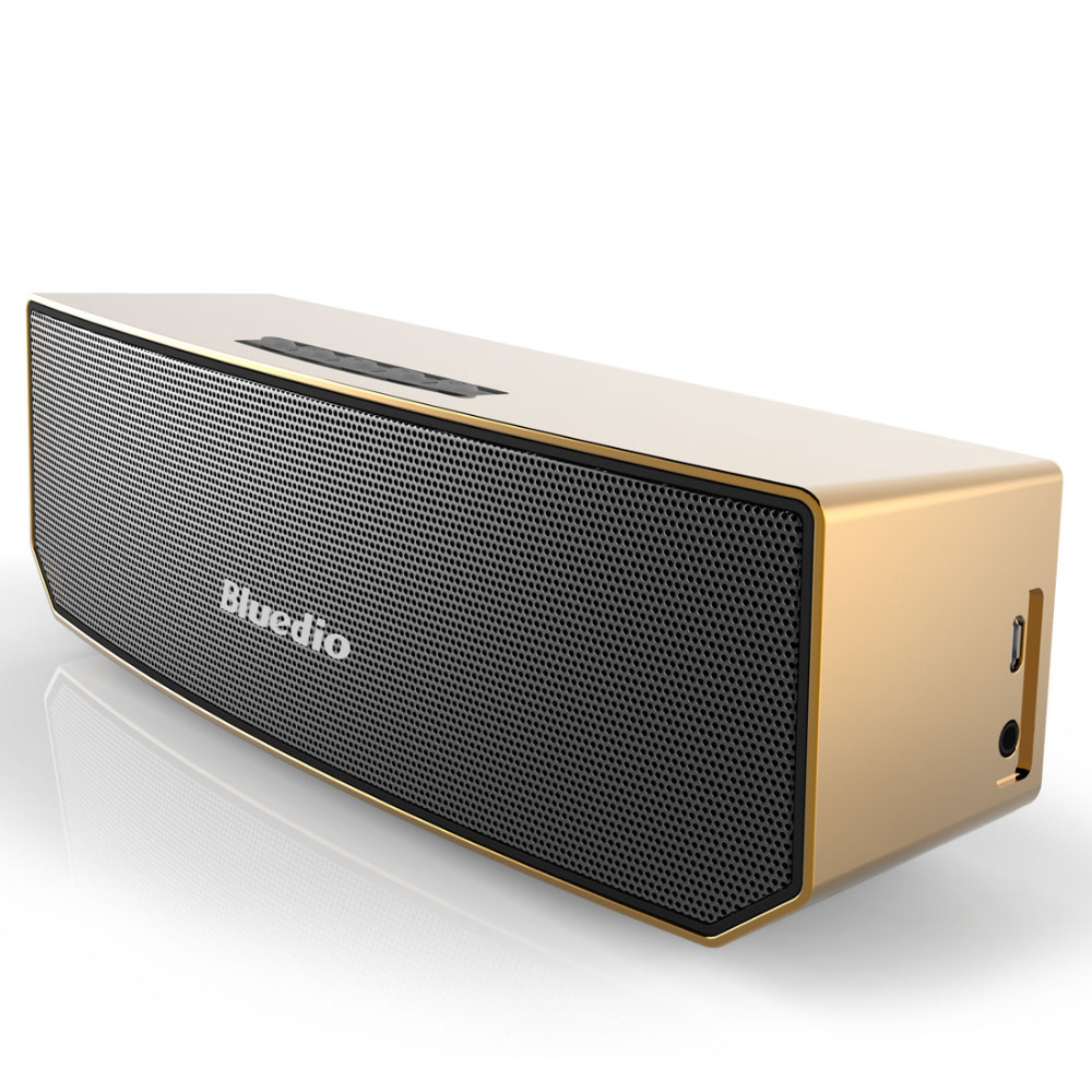 Bluedio BS-3 (Camel) Mini Bluetooth speaker Portable Wireless speaker Sound System 3D stereo Music surround(China (Mainland))