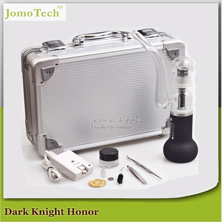 2016 New Ecig Dark Knight Honor Dry Herb Vaporizer Vaporizer Pipe Ceramic Baking E Cigarette Mods with Luxure Case Jomo-07-1(China (Mainland))