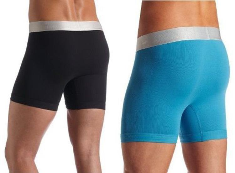 10 pcs/lot Comfortable and breathable Men's Underwear Boxers Shorts longer version in a size large men underwear men boxer(China (Mainland))