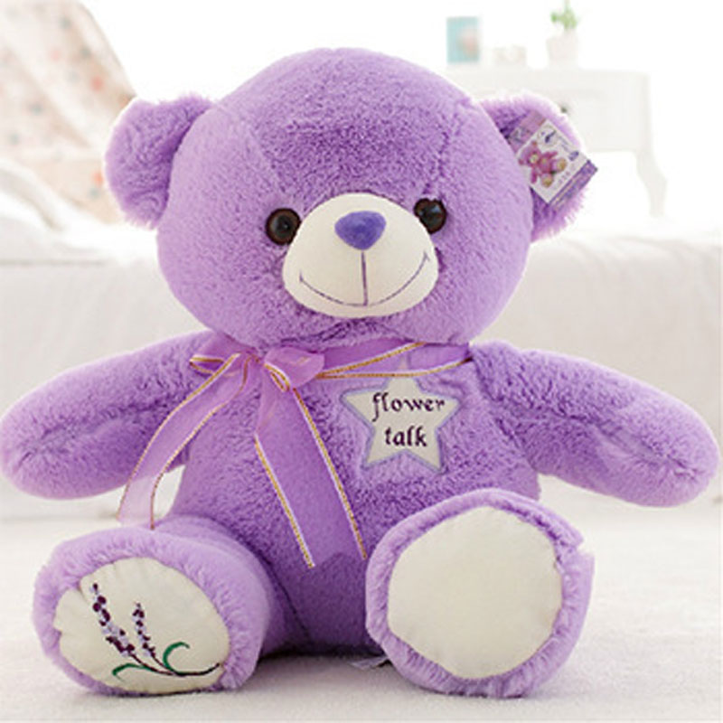 Special offer product manufacturers 35cm lavender bears Teddy bear plush toys(China (Mainland))