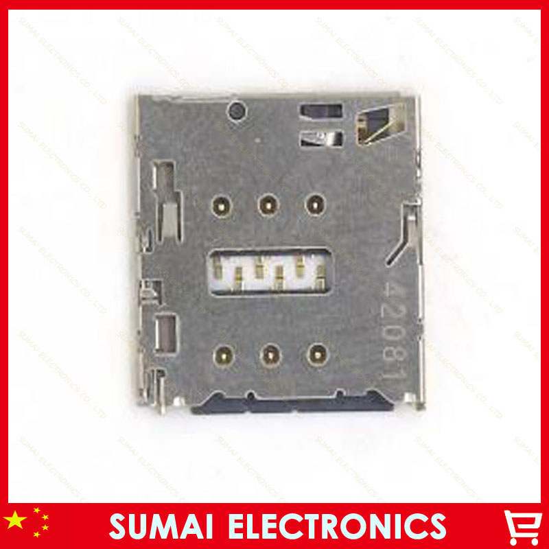 50pcs Original New SIM card slot for Gionee S5.1 E7 GN9005 GN9002 GN9000L Phone Built-in Card Holder