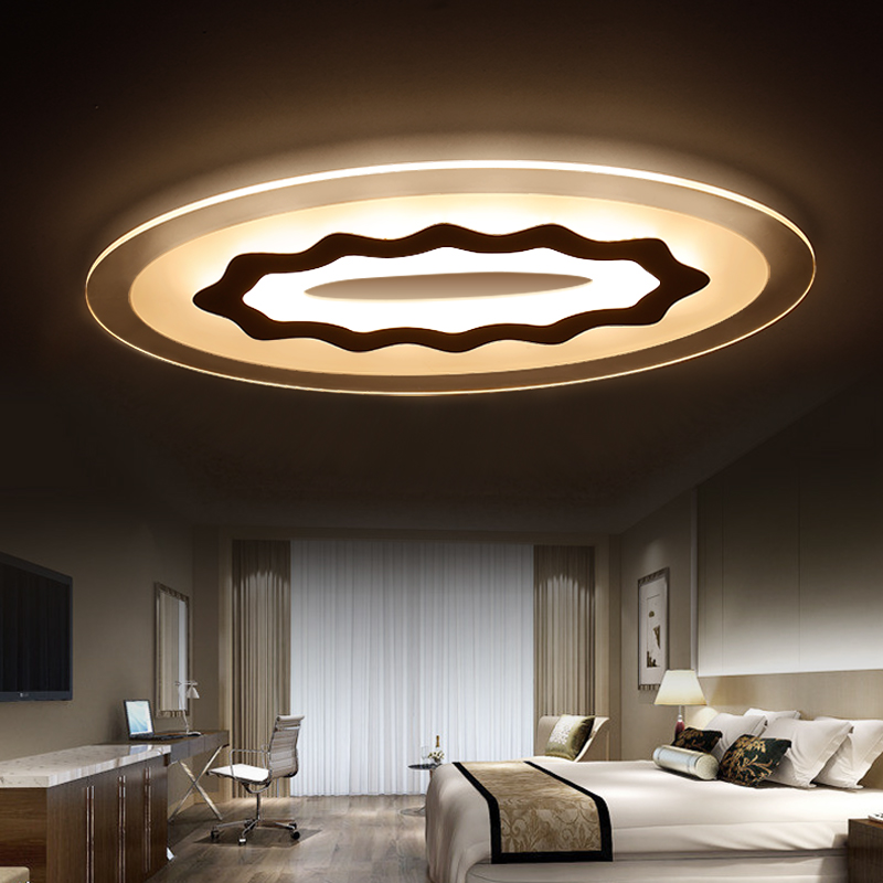 round Led Ceiling Lights design child living room light lamparas de techo home lighting fixtures Acrylic kitchen bedroom lamp(China (Mainland))