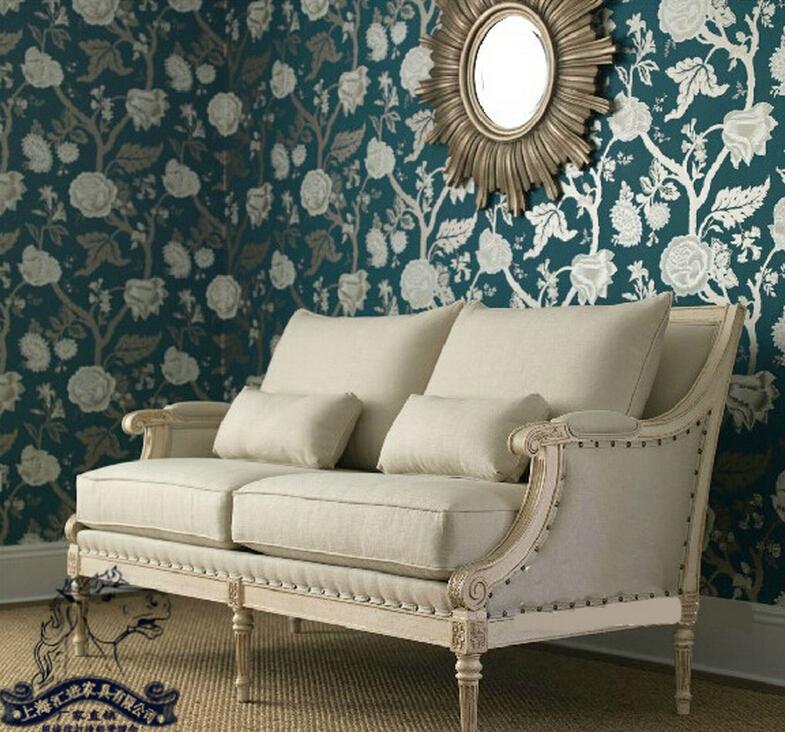 Sala de estar de estilo n rdico pa s de am rica antigua de for Sala de estar antigua