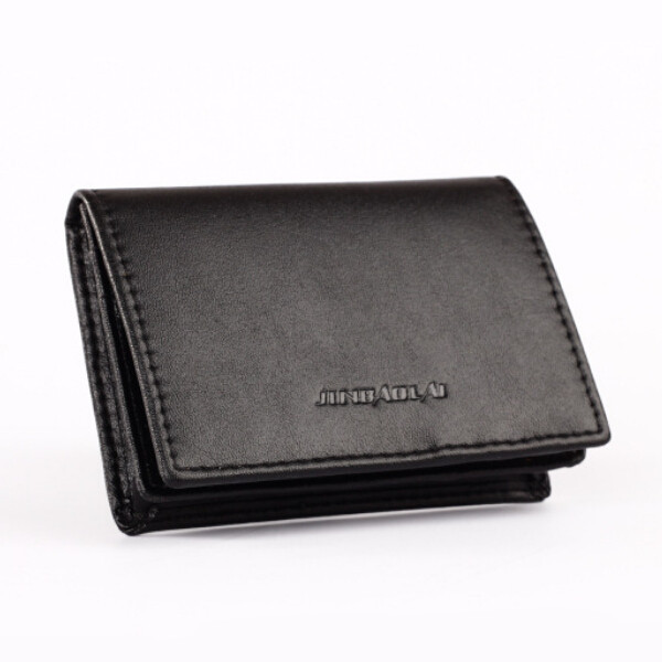 High quality Men credit card holder fashion black business