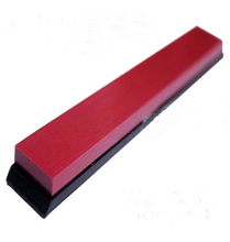 3000# ruby sharpener stone with base  Freeshipping Dropshipping  1 piece price  Ruby oil stone(China (Mainland))