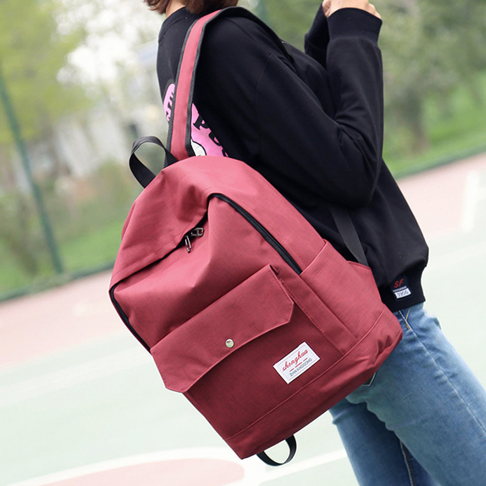 2016 New Fashion Brand Design Unisex Soft Handle Daily Life Casual Double-Shoulder Travel Backpack School Bags For Teenagers 3t(China (Mainland))