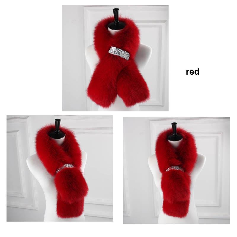 fox fur scarf re