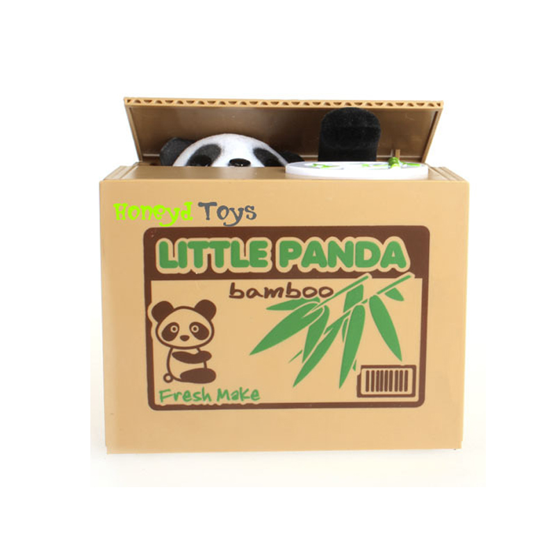 Fuuny gadgets novelty funny cute panda automatic stole Funny kitchen gadgets gifts