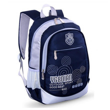 school bags for boys school backpack bookbag children backpacks blue waterproof nylon book bag girl schoolbag kids travel bag(China (Mainland))