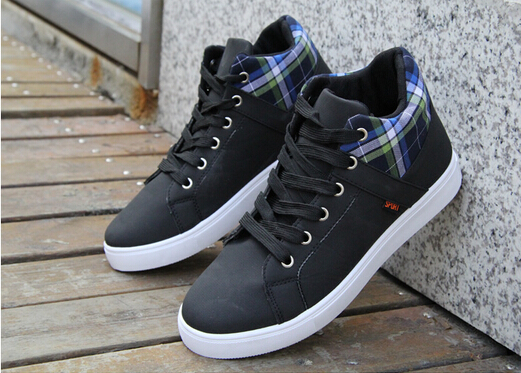 Hot 2014 new Men's Casual Sports shoes Spring Autumn Canvas Elevator fashion trend High Skate - Alpple store