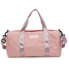89a6d6df1fa Swimming Yoga Fitness Gym Bags Dry Wet Bag Handbags For Women Shoes Travel  Training Waterproof Pink