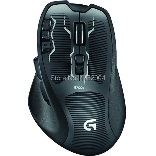 Brand New Logitech G700s 2.4Ghz Dual Mode Gaming Mouse 8200dpi Wireless Computer Mouse with 3 Year Warranty<br><br>Aliexpress