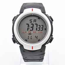1Pcs Waterproof Round Dial Sport Digital Watches For Student Cold Light Quartz Boys Girls Children Wristwatch