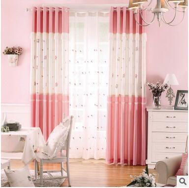 baby kids or girls room curtains korean stlye floral