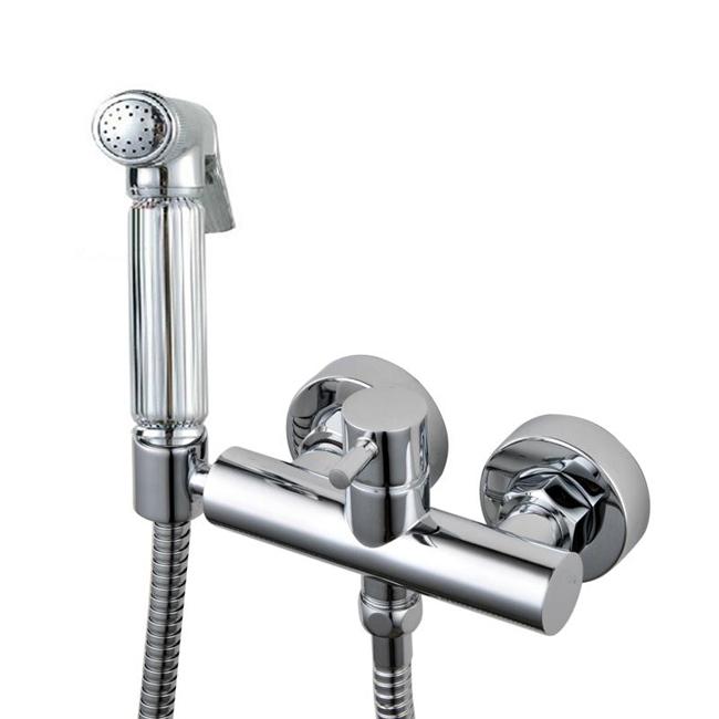 Brass Bidet Faucet Shattaf Spray shower Set with bidet toilet Cold Hot Water spray + Shower Hose Free Shipping<br><br>Aliexpress
