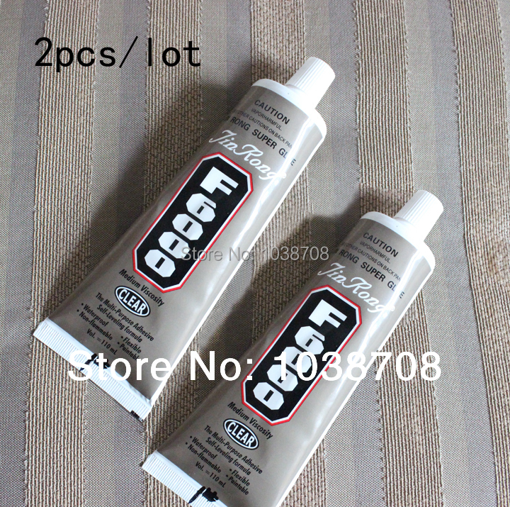 2pcs lot 110ml f6000 e6000 rhinestone glue jewelry for What kind of glue to use for jewelry