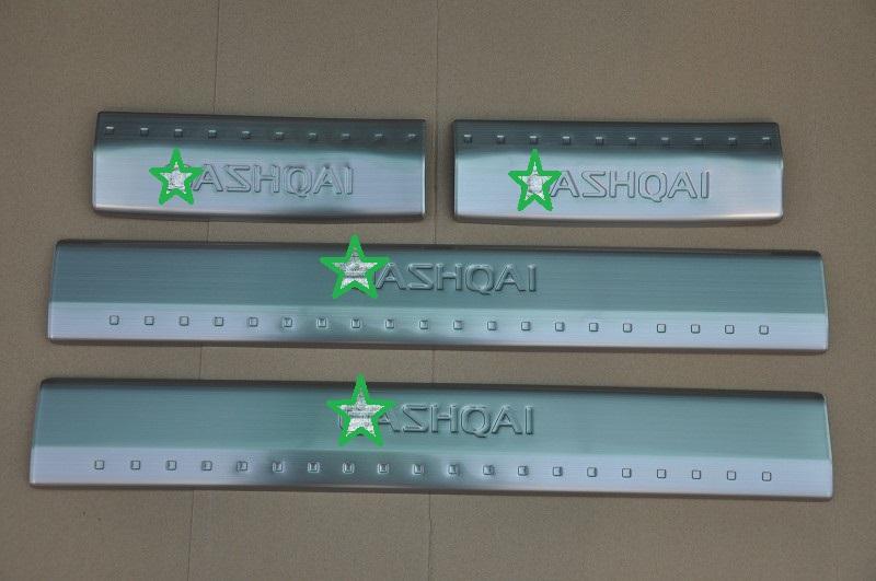 Auto interior scuff plate door sill plate pedal  for  Nissan Qashqai 2010-2014,Type A ,auto accessories<br><br>Aliexpress