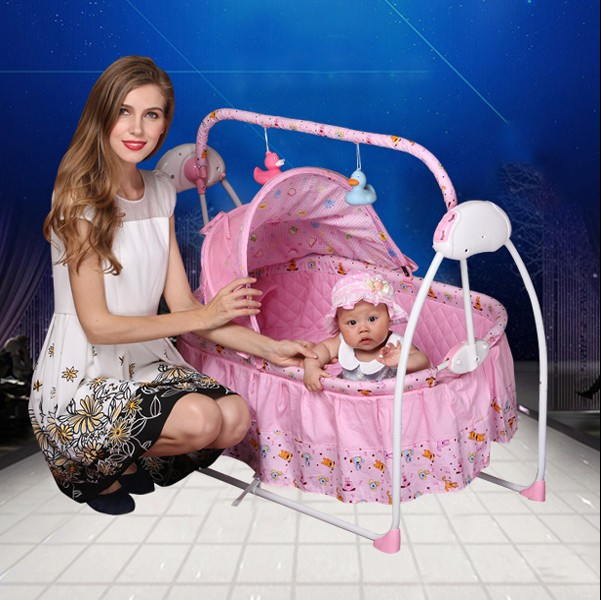 ka electric shaker cradle baby BB electric recliner rocking swing baby bed(China (Mainland))