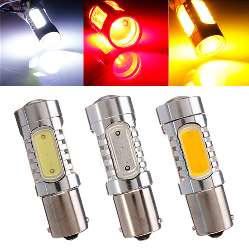1156 BA15S 7.5W COB LED Car Auto Turn Signal Lights Backup Reverse Bulb Replacement Lamp(China (Mainland))