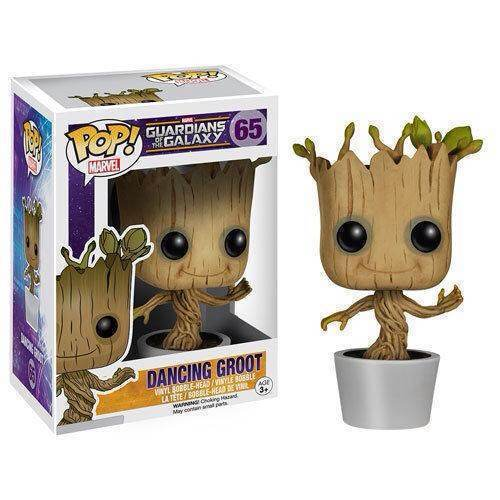 Guardians Of The Galaxy Toy Figure DANCING GROOT
