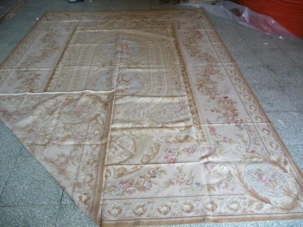 acheter livraison gratuite 12 39 x18 39 fran ais aubusson tapis style europ en. Black Bedroom Furniture Sets. Home Design Ideas