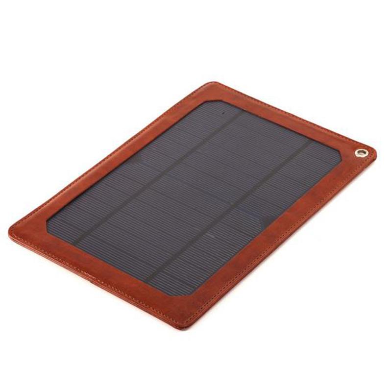 Compre 3 7 w port til couro carregador solar painel solar externo banco de - Extern panel ...
