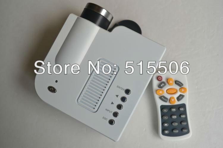mini LED projector Native 320*240 HDMI LCD Digital home theater Projector with VGA AV USB SD HDMI ports Free Shipping(China (Mainland))