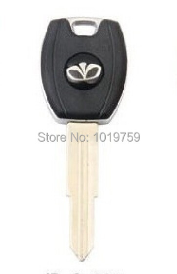 DHL shipping wholesale Daewoo transponder chip key shell fob with removable blade(China (Mainland))