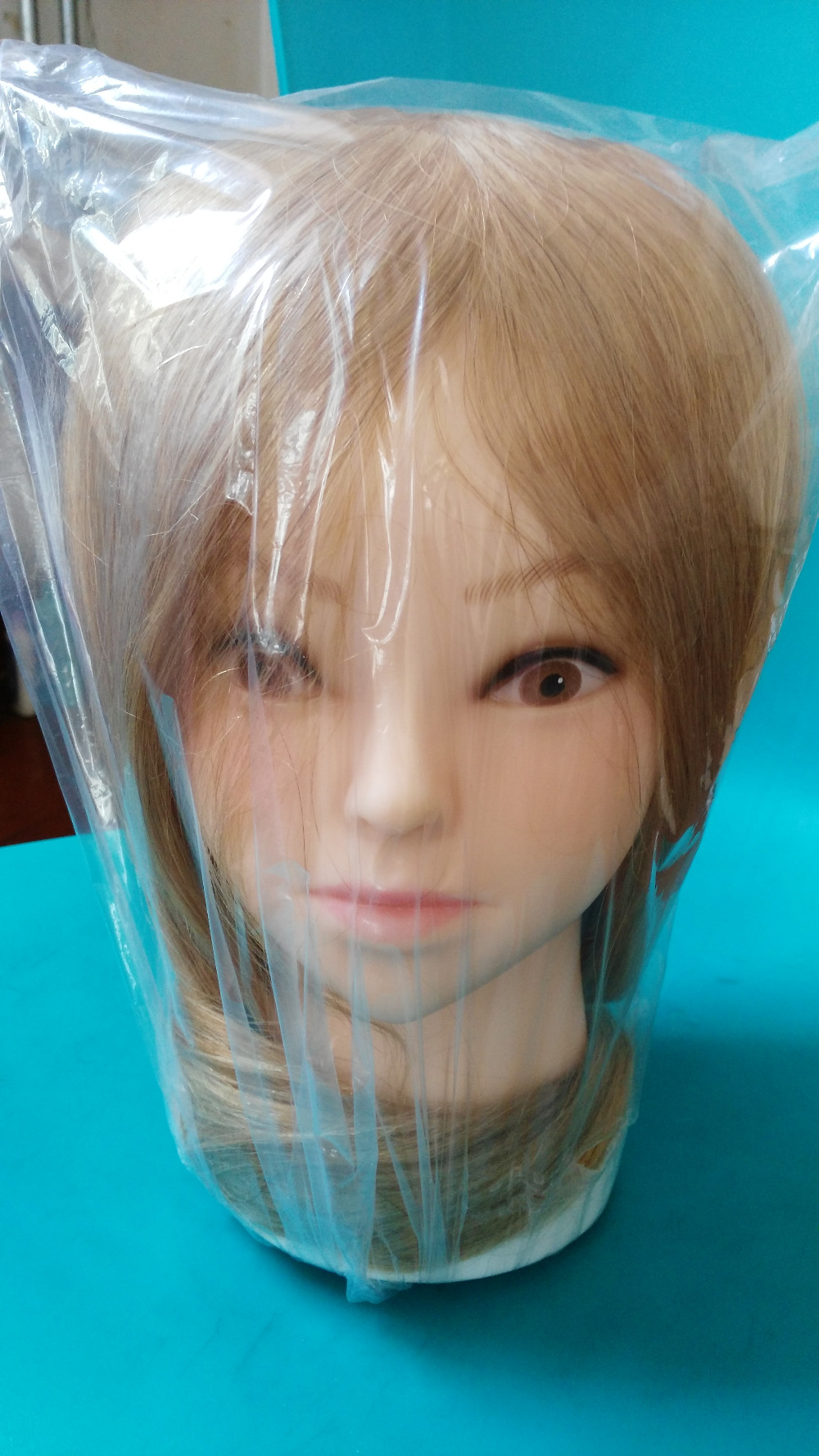 Free shipping Hair hairdressing styling dummy head Mannequin prectice head Manikin Training Head with Human