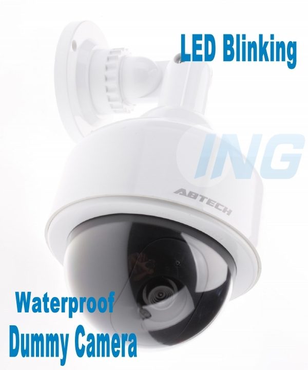 Waterproof Fake Camera Oudoor/Indoor Realistic Dummy Decoy Security Camera Surveillance Fake CCTV Cam with Blinking LED(China (Mainland))