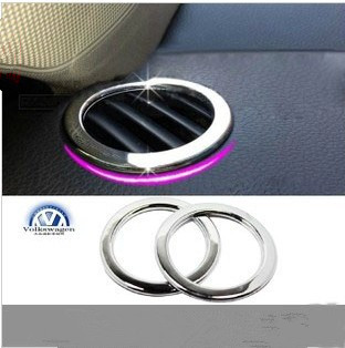 Free shipping New style automobile decoration new passat soar team dedicated dashboard outlet sequins/modified metal post(China (Mainland))