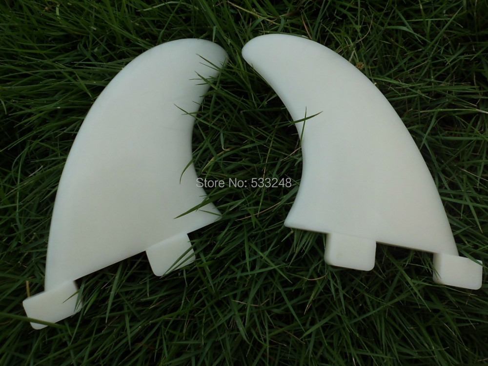 Plastic FCS GL surf fin white surf board fin 20 set/lot Wholesale(China (Mainland))