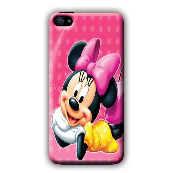 Cheap Cell Phone Cases Minnie MOuse bright dots For iPhone 5c Case Phone Covers Droid Razr M(China (Mainland))