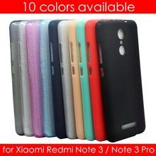 กรณีโทรศัพท์สำหรับXiaomi R Edmiหมายเหตุ3 Pro (5.5นิ้ว)อัลตร้าสลิมฟิต0.5มิลลิเมตรนุ่มใสและMatte TPUฝาครอบสำหรับR Edmiหมายเหตุ3