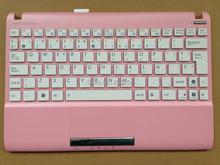 Новый ноутбук клавиатура для Asus Asus Eee PC 1025C 1025CE испанский SP белый с розовым C чехол V103646OK1