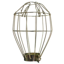 Quality Assurance Retro Metal Bulb Guard, Clamp On Metal Lamp Cage, For Vintage Trouble Light Indu(China (Mainland))