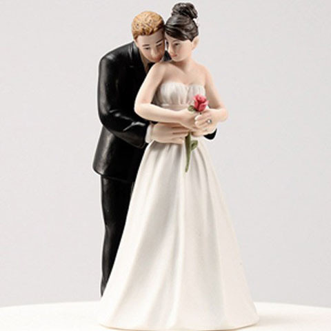 Cake Topper Couple Groom Bride Figurine Resin Favor gift cake stand Wedding Decoration birthday Home Party Supplies souvenirs(China (Mainland))