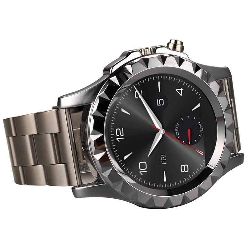 ถูก 2015หรูหราดูสมาร์ทT2 SmartwatchสำหรับAndroidโทรศัพท์Heart Rate Monitorเครื่องเล่นMp3กล้องR Eloj Inteligenteอุปกรณ์สวมใส่