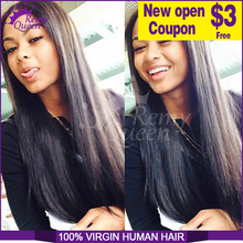 Top Quality Indian Virgin Hair Straight 3pcs/lot New Hair Products 100% Human Hair Weaves,Grade 6A,Remy Queen Hair Product
