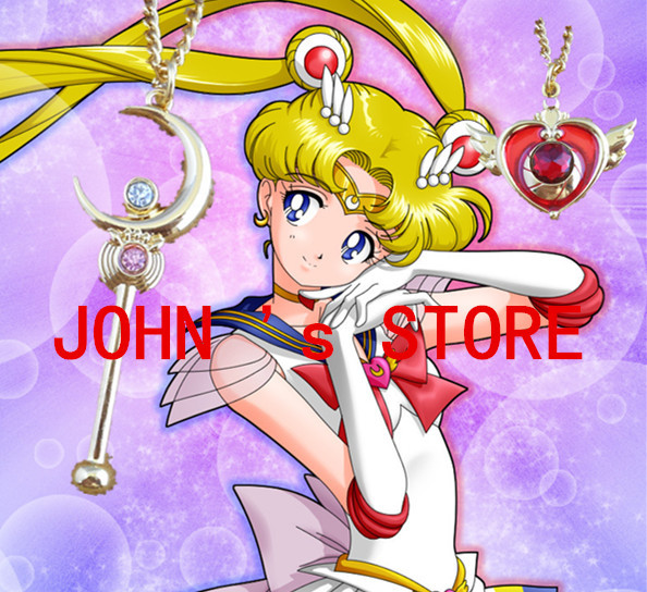 Freeshipping wholesale 20pc a lot Sailor Moon necklace ODMCD02<br><br>Aliexpress