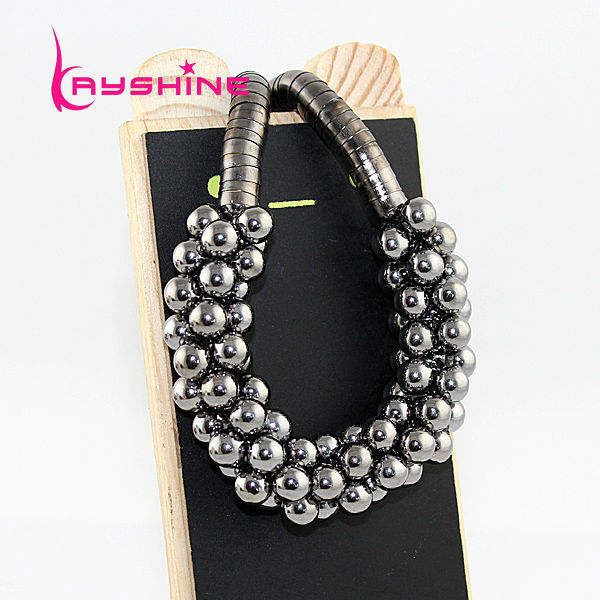 Hot Sale Sieraden Necklace Steampunk Style Girl's Jewelry Multilayer Bubble Chocker Necklace(China (Mainland))