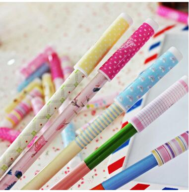 7 PCS / PACK Japan and South Korea creative stationery wholesale boxed pen pencil sets a cap student cap<br><br>Aliexpress