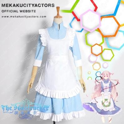 Kagerou Project Mary Cosplay Costume women Maid dress Customize - Kingdom Services store