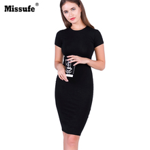 Buy Vintage Knee Length Pencil Tunic 2017 Summer Style Vestidos Casual Slim Evening Party Gowns Sexy Bandage Bodycon Women's Dresses for $8.99 in AliExpress store