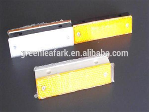 best quality rectangle colorful traffic flexible road reflective plastic delineator(China (Mainland))