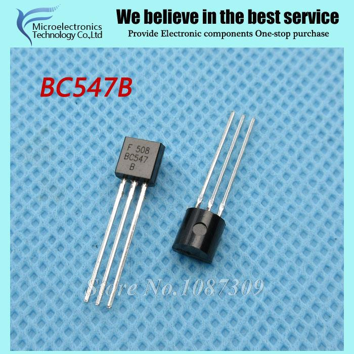 Гаджет  200pcs free shipping BC547B BC547 TO-92 Bipolar Transistors - BJT NPN 45V 100mA HFE/45 new original None Электронные компоненты и материалы